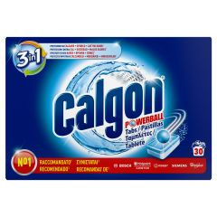 Tablete anticalcar Calgon Powerball, 30 buc