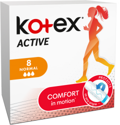 Tampoane Kotex Active Normal, 8 buc