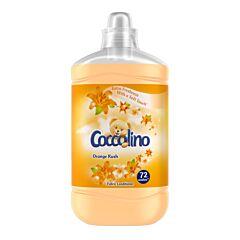 Balsam de rufe Coccolino Orange Rush, 72 spalari, 1.8 L