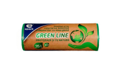 "Saci menajeri ""green line"" Epack, 35l, 30 buc"