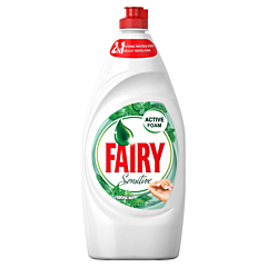 Detergent de vase Fairy Sensitive Teatree & Mint, 800 ml