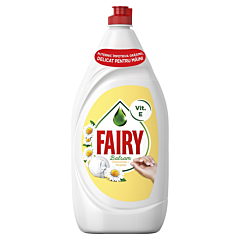Detergent de vase Fairy Sensitive Chamomile & Vitamin E, 1300ml