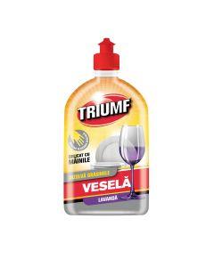Detergent lichid de vase Triumf Lavanda, 500 ml