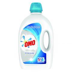 Detergent automat lichid Omo Ultimate Active Clean, 60 spalari, 3 L
