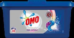 Detergent automat capsule Omo Ultimate Trio Caps Colour, 30 spalari, 30 buc