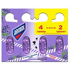 Gel impotriva moliilor si acarienilor Aroxol Lavanda, 4 bucati