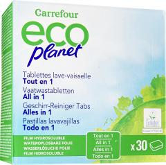 Detergent tablete pentru masina de spalat vasele Carrefour, 30 buc