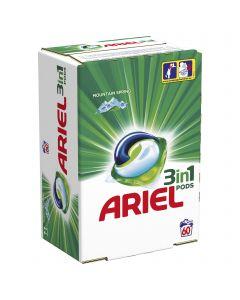 Detergent automat capsule Ariel 3in1 PODs Mountain Spring, 60 spalari, 60 buc