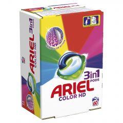 Detergent automat capsule Ariel 3in1 PODs Color, 60 spalari, 60 buc