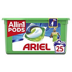 Detergent automat caspule Ariel All in One PODS Active Deo+ 25 spalari