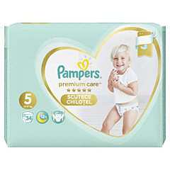 Scutece chilotel Pampers Premium Care Pants, Marime 5, 12-17 kg, 34 buc