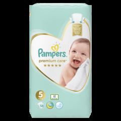 Scutece Pampers Premium Care, Marime 5, 11-16 kg, 58 buc