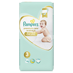 Scutece chilotel Pampers Premium Care Pants, Marime 3, 6-11 kg, 48 buc