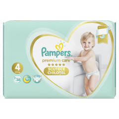 Scutece chilotel Pampers Premium Care Pants, Marime 4, 9-15 kg, 38 buc