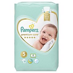 Scutece Pampers Premium Care, Marime 5, 11-16 kg, 17 buc