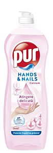 Detergent de vase Pur Hands & Nails, 750ml