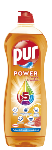 Detergent de vase Pur Orange & Grapefruit, 750ml