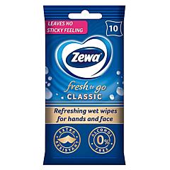 Servetele umede Zewa Fresh to go, 10 bucati