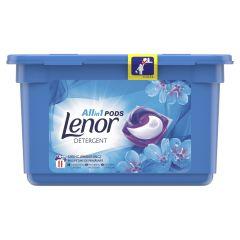 Detergent automat capsule Lenor Spring Awakening, 11 spalari, 11 buc.