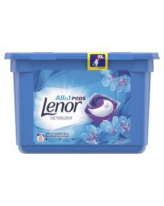Detergent automat capsule Lenor Spring Awakening, 15 spalari, 15 buc.