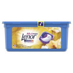 Detergent automat capsule Lenor Gold Orchid, 28 spalari, 28 buc.