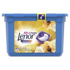Detergent automat capsule Lenor Gold Orchid, 15 spalari, 15 buc.