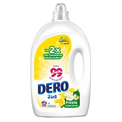 Detergent automat lichid, Dero 2in1 frezie si flori de tei, 60spalari, 3L