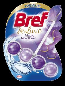 Odorizant toaleta Bref DeLuxe Moonflower, 50g