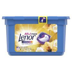 Detergent automat capsule Lenor Gold Orchid, 11 spalari, 11 buc.