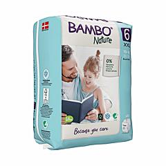 Scutece ecologice pentru bebelusi, Bambo Nature, marimea 6, 16+ kg, 20 bucati