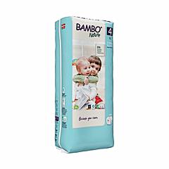 Scutece ecologice pentru bebelusi, Bambo Nature, marimea 4, 7-14 kg, 48 bucati