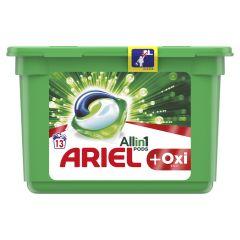 Detergent automat capsule Ariel PODS Plus Oxi Efect, 13 spalari, 13 buc.