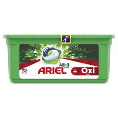 Detergent automat capsule Ariel PODS Plus Oxi Efect, 25 spalari, 25 buc.