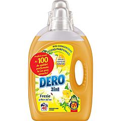 Detergent automat lichid, Dero 2in1 Frezie si flori de tei, 3L+2L