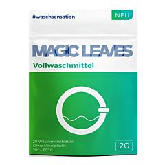 Detergent foaie rufe albe, Magic Leaves, 20 bucati