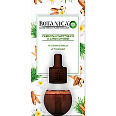 Rezerva odorizant electric vetiver din Caraibe si lemn de santal Botanica, 19ml