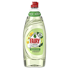 Detergent de vase Fairy Pure and Naturals Bergamota si Ghimbir, 650 ml