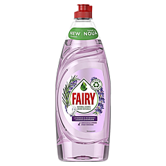 Detergent de vase Fairy Pure and Naturals Lavanda si Rozmarin, 650 ml
