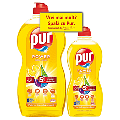 Detergent de vase Mar, Pur, 1.2L + 450ml