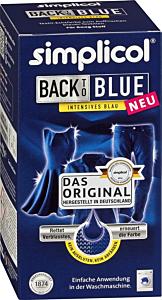 Vopsea rufe albastru Heitmann, 750 gr