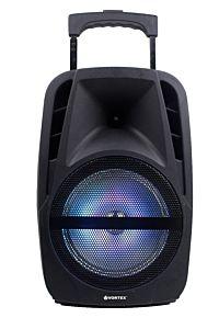 Boxa tip troller Vortex VO2605, 30 W, Bluetooth, USB, Negru