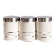 Recipiente din inox pentru depozitare ceai, cafea, zahar, 9 x 1 2 CM / 650 ML