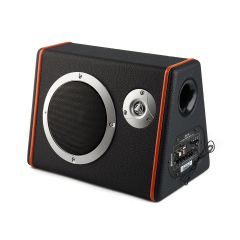 Subwoofer Auto Activ Slim BL-T6018, 90 dB, 4Ohm, USB, TF Card, Bluetooth, Negru