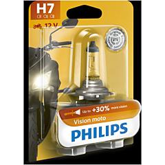 Bec moto Vision h7 12v Philips