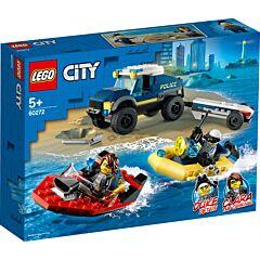 LEGO City Police Transportul barcii Politiei de elita 60272