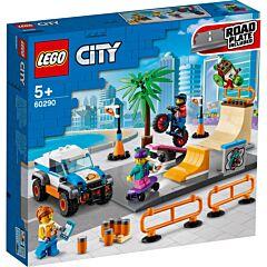 LEGO City Parc skateboarding 60290