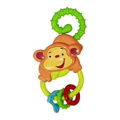Jucarie zornaitoare bebelusi, Monkey, Lorelli