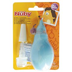 Nuby Aspirator nasal + set de curatare ureche +0