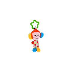 Jucarie zornaitoare din plus, Monkey, 18,5 cm, Lorelli