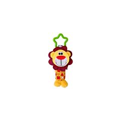 Jucarie zornaitoare din plus, Lion, 18,5 cm, Lorelli